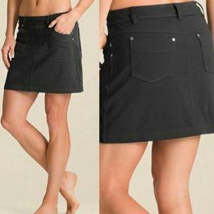 ATHLETA Bettona Skirt Charcoal Grey Size Small